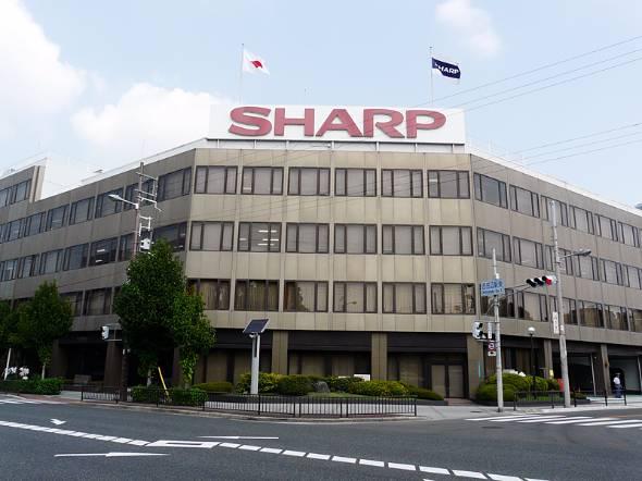 かつてのシャープ本社