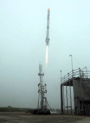 7月30日に行われた打ち上げ実験の様子