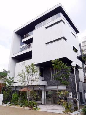 2017年7月22日にオープンした関西初5階建て住宅のモデルハウス