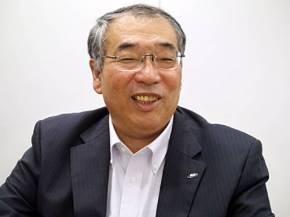 シャープ 上席常務 ディスプレイデバイスカンパニー社長の桶谷大亥氏