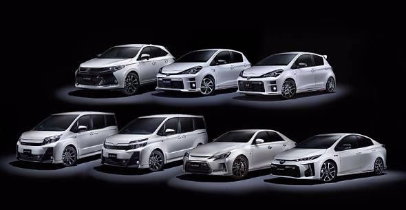 GAZOO Racing Companyの発足をアピールするべく9車種11モデルの固め打ちでインパクトを狙う。リリースはモデルによって、すでに発売されているものから来春予定までモデルごとに異なる