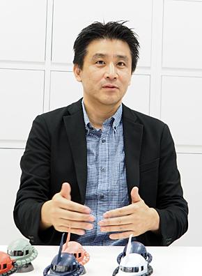 バンダイ ベンダー事業部 企画・開発第一チーム アシスタントマネジャーの誉田恒之氏