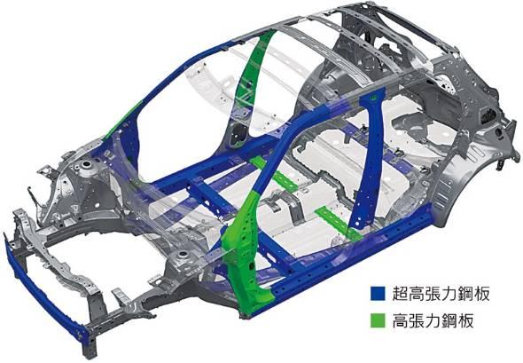全体最適化と高張力鋼板の採用拡大で先代モデルから大幅な軽量化を遂げたスズキの新しいシャシーアーキテクチャー、ハーテクト