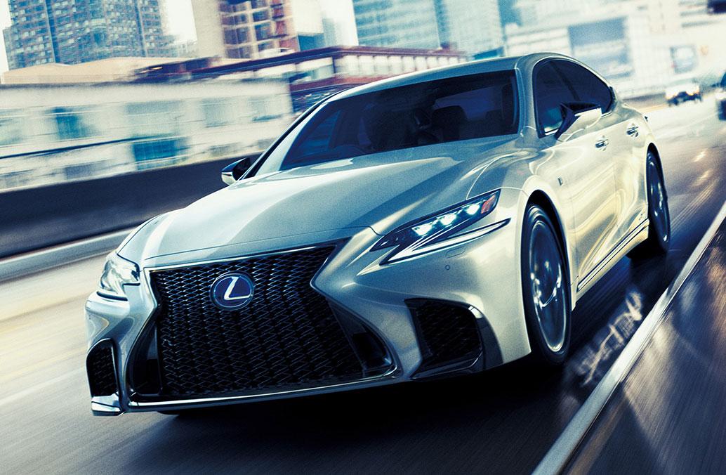 Lexus F Sport >> 新型「レクサスLS」発売 フラッグシップセダンを一新 (1/3) - ITmedia ビジネスオンライン