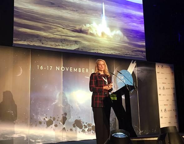 米SpaceXのグウィン・ショットウェル社長