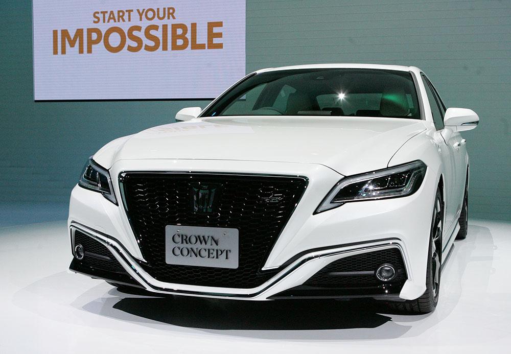 トヨタの新型「クラウン」はネット接続を標準装備 何ができる?:来夏発売(1/2 ページ)