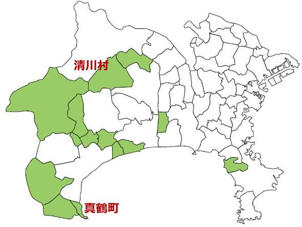 神奈川県町村情報システム共同事業組合に加盟する町村