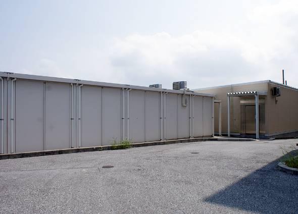 南城市にある植物第1・第2工場