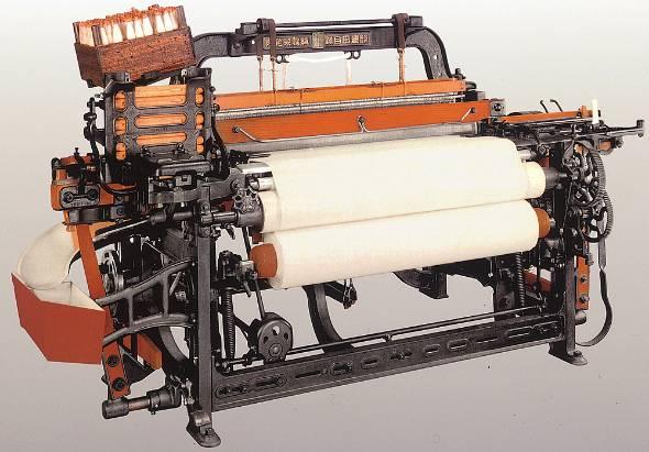 自働化の原点であるトヨタの自動織機