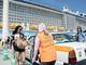 タクシー乗り入れでクルーズ船客より便利に 貨物船用の那覇港ターミナルで実証実験