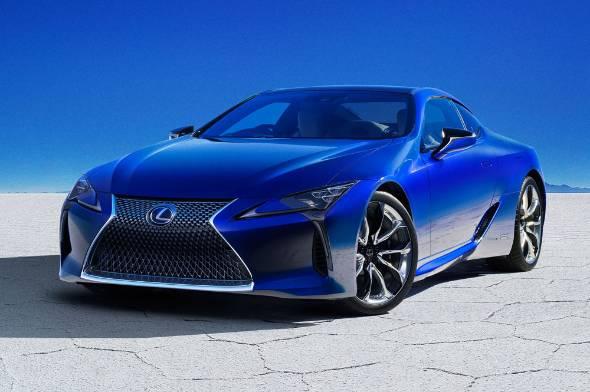 レクサス lc の特別仕様車 その鮮やかな青の秘密 1 3 itmedia