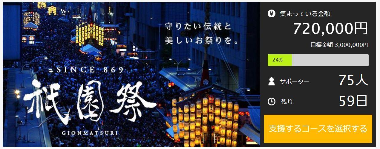 「祇園祭」運営元、今年も「Makuake」で資金募集 警備やごみ処理に活用