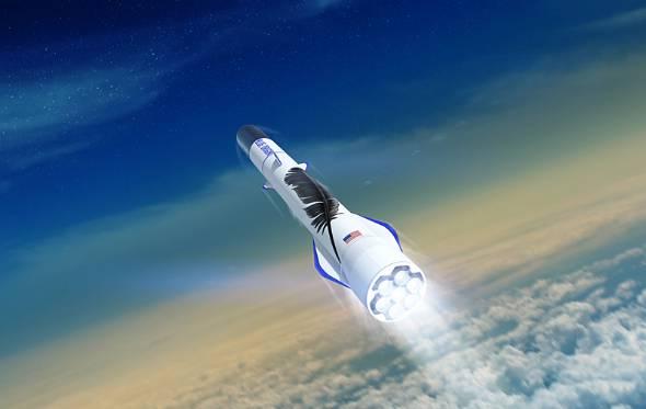 Blue Originが開発を進める大型ロケット「New Glenn」