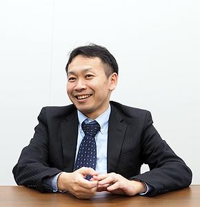 財務経理本部 財務部 担当課長の廣戸秀敏氏