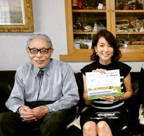 かこさんの生前、雑誌の取材でご自宅を訪問しました