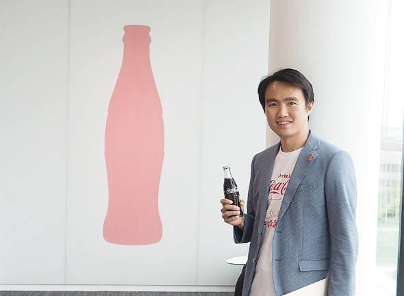 日本コカ・コーラ インフォメーション・テクノロジー マーケティング & PAC ビジネス・サービス・マネジャーのケン・リーさん