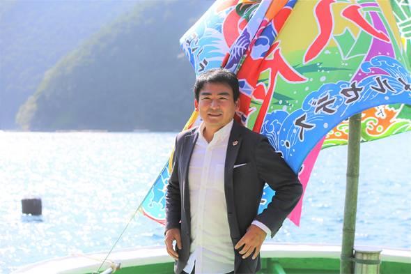 漁業への参入を決めた株式会社ゲイトの五月女圭一社長