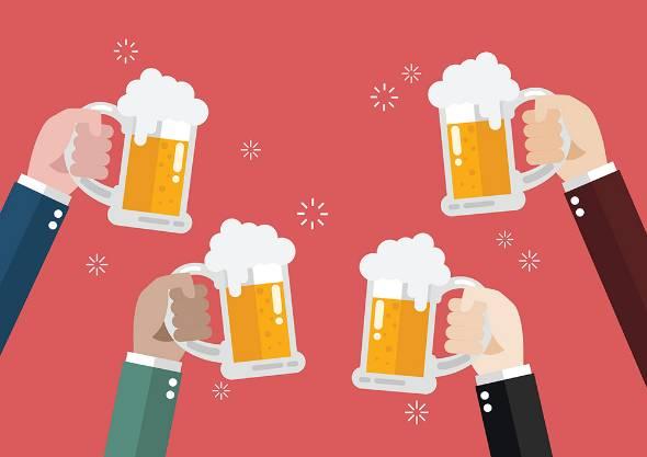 消費者の好みの多様化などによってビールの消費量は減少している(写真提供:ゲッティイメージズ)
