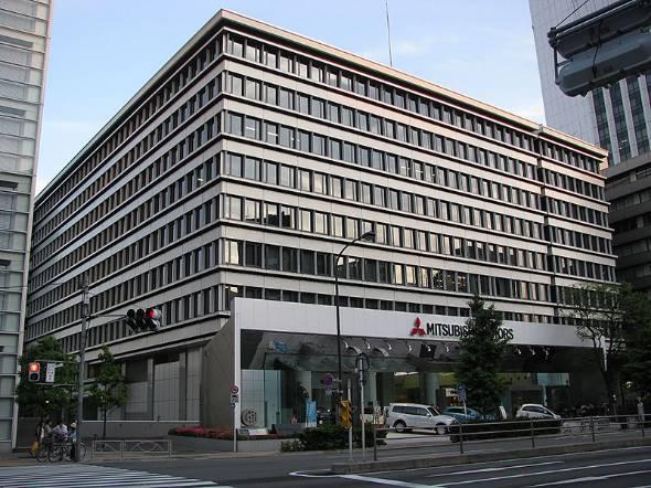 三菱自動車の本社(出典:Wikipedia)