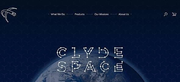 小型衛星関連企業のClyde Space(出典:同社サイト)