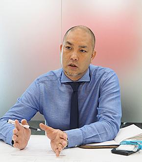 ワコム ビジネス ソリューション Japan BSセールス パブリック マネージャーの吉川祐司氏