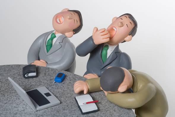 生産性の低い会議が世の中にまん延している
