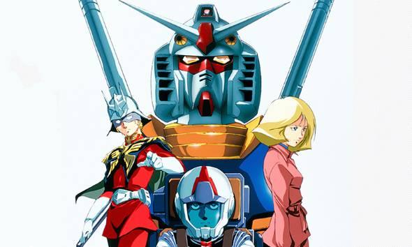 ガンダムの「姫」、セイラ・マス(右)(出典:機動戦士ガンダム公式サイト)