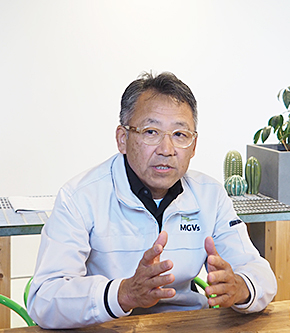MGVsワイナリーの松坂浩志代表