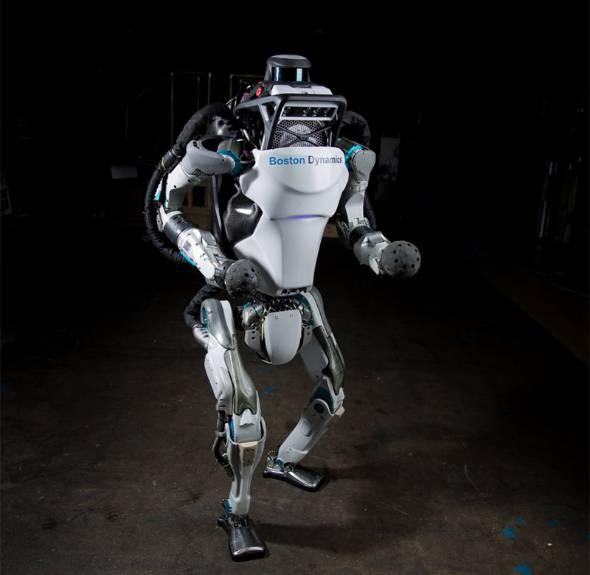 ソフトバンクグループが買収したBoston Dynamicsのロボット(出典:同社サイト)