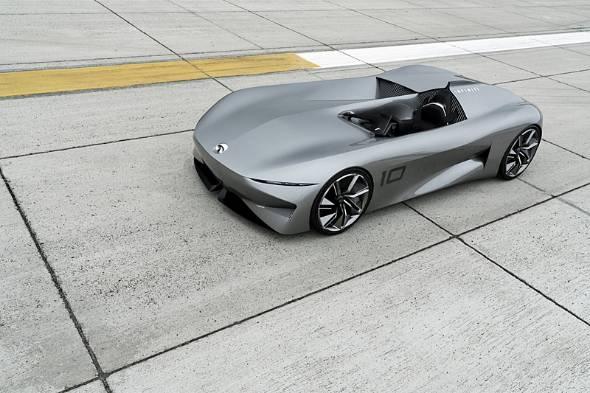 米ペブルビーチで発表されたインフィニティのEVスポーツカーコンセプト