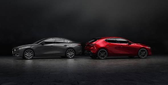 Mazda3 Skyactiv X >> マツダ、新型「アクセラ」世界初公開 デザイン一新、「SKYACTIV-X」搭載 (1/4) - ITmedia ビジネスオンライン
