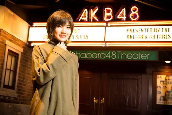 初めてのソロコンサートを開いたAKB48の岡田奈々さんは、これまで以上に自分の夢が鮮明になった(撮影:福田栄美子)