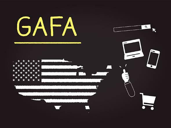 GAFAに対する規制が日本でも本格的に検討され始めた(写真提供:ゲッティイメージズ)