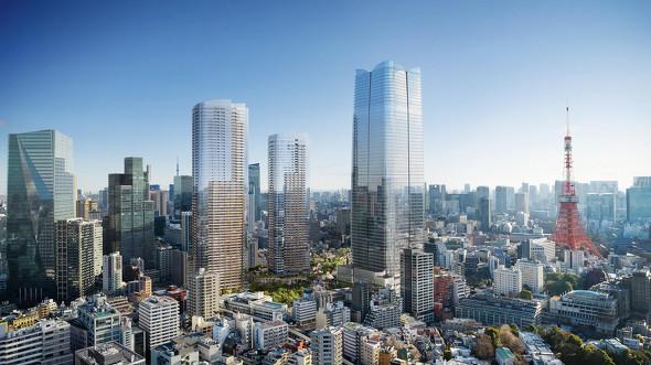 """日本一の330メートル高層ビル、森ビルが着工 """"超高層""""は今後10年で ..."""