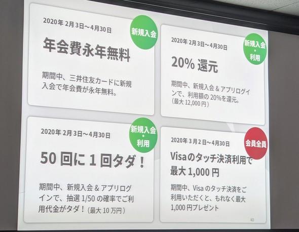 三井 住友 ビザ カード 年 会費