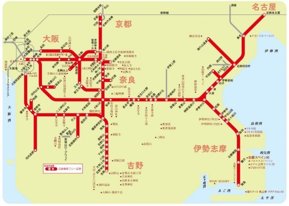 近鉄、平日も全線乗り放題の「3日間フリーきっぷ」発売 国内旅行需要の ...