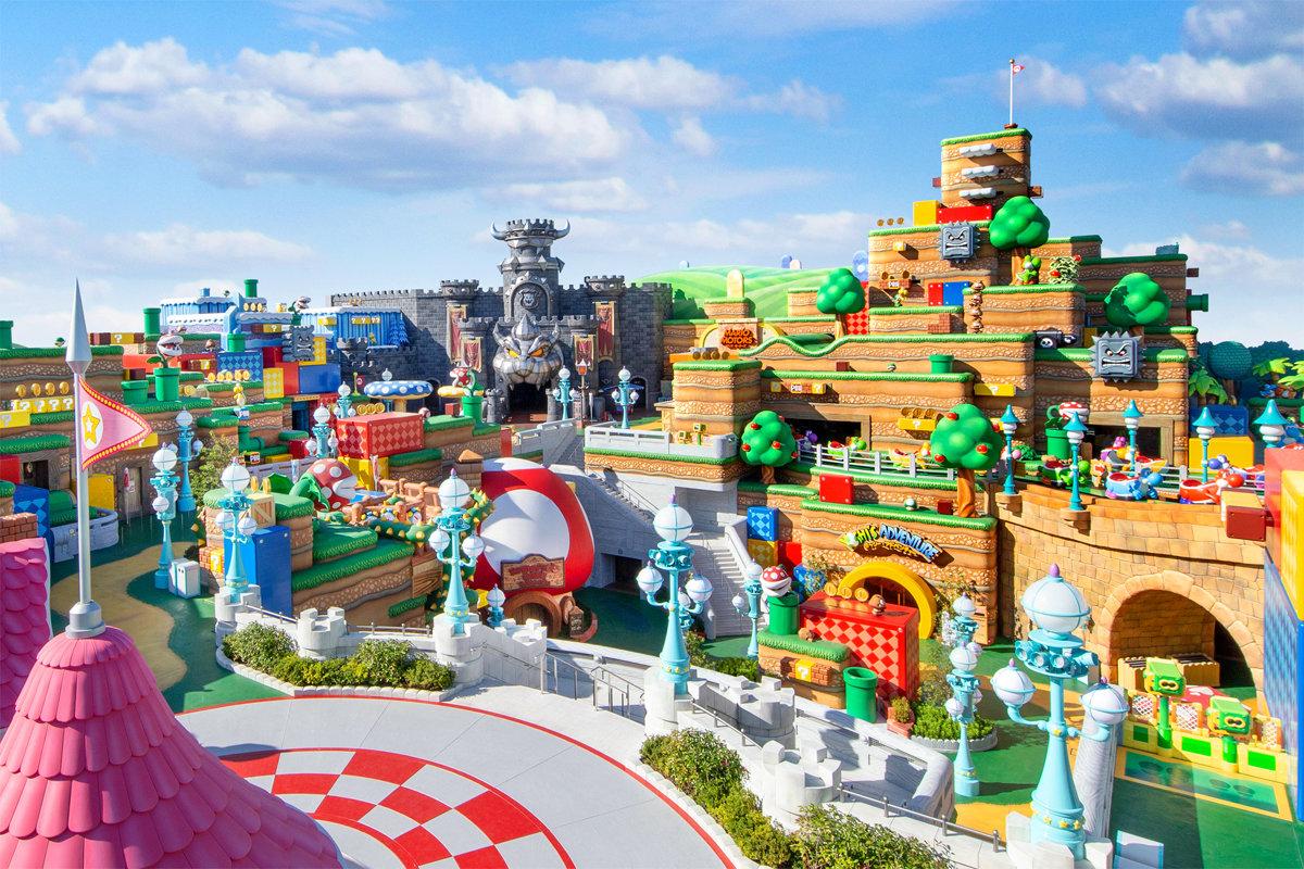 USJの任天堂新エリア、2月4日オープン 「マリオカート」でキャラクターとレース体験