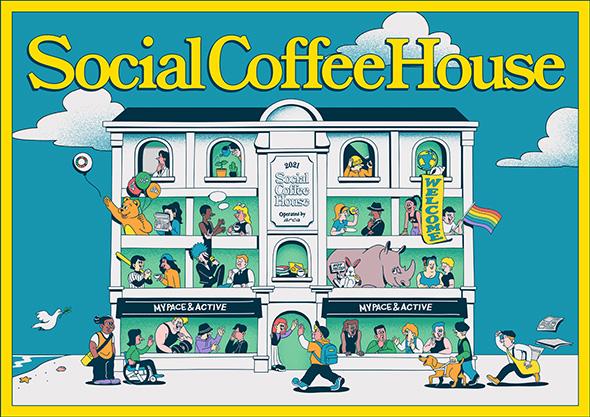 Social Coffee Houseロゴ