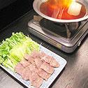 鯨のハリハリ鍋からヒントを得た「ホホ肉のハリハリ鍋」