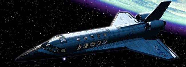 宇宙体験旅行写真