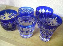 江戸切子のショットグラス