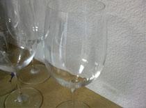 リーデルのワイングラスセット