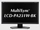 IPSパネル、14ビットLUT、10ビット入力対応:NECディスプレイ、カラーマネジメント対応の23型フルHD液晶「MultiSync LCD-PA231W」