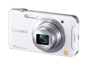 """スマートフォンから操作可能なスリムデジカメ""""LUMIX""""「DMC-SZ5」"""