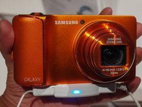 IFA 2012:Android 4.1搭載デジカメ「GALAXY Camera」に触れる