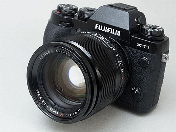 FUJIFILM X-T1とフジノンレンズ XF56mmF1.2 R