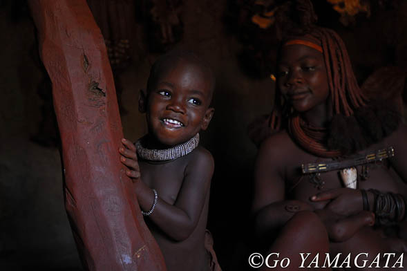 ナミビア ヒンバ族