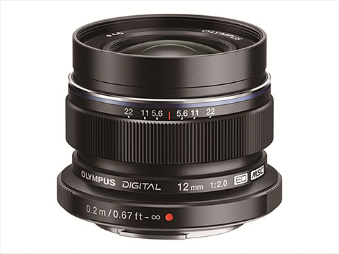 M.ZUIKO DIGITAL ED 12mm F2.0�i�u���b�N�j