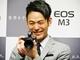 「頼れるすてきな相棒です」——新CM出演の妻夫木聡が語るキヤノン「EOS M3」の魅力