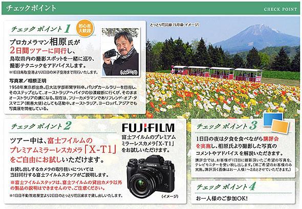 プロカメラマン相原正明氏と行く!春の鳥取ツアー